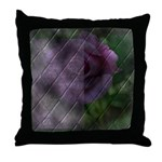 Rose Forever Poem Tile Throw Pillow