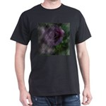 Rose Forever Poem Tile Dark T-Shirt