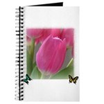Spring Tulips and Butterflies Journal