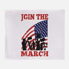 Occupy Wall Street Throw Blanket