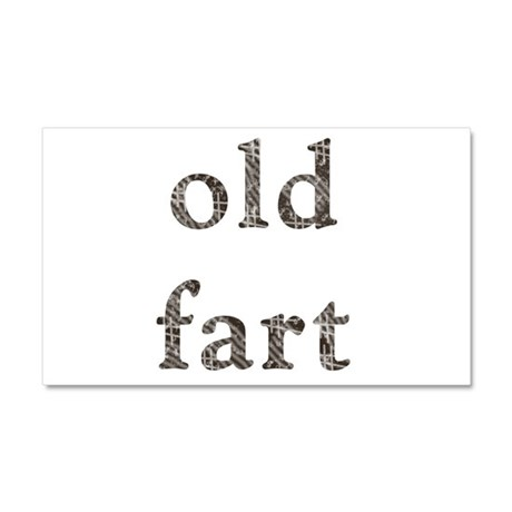 Old Fart Items Car Magnet 20 x 12