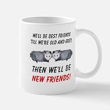 Old New Possum Friends Small Mugs