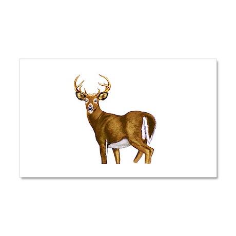 American White Tail Deer Buck Car Magnet 20 x 12