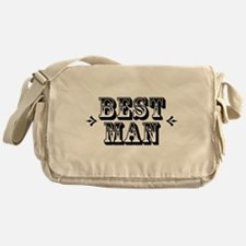 Best Man - Old West Messenger Bag