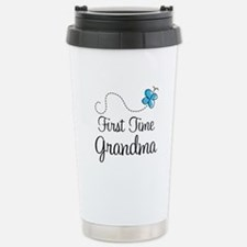 First Time Grandma Travel Mug