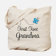 First Time Grandma Tote Bag