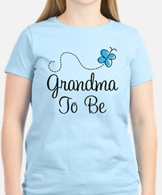 Grandma To Be Butterfly T-Shirt