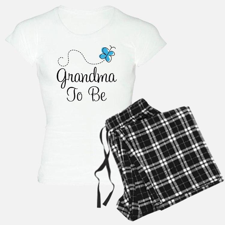 Grandma To Be Butterfly Pajamas
