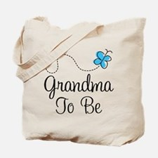 Grandma To Be Butterfly Tote Bag