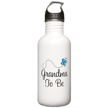 Grandma To Be Butterfly Stainless Water Bottle 1.0