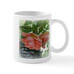 Beautiful Moments Peach Roses Mug