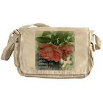 Beautiful Moments Roses Messenger Bag