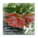 Beautiful Moments Roses Tile Coaster