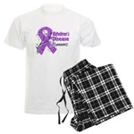 Alzheimers Disease Awareness Men's Light Pajamas