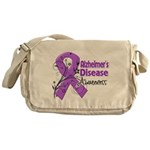 Alzheimers Disease Awareness Messenger Bag