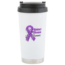 Alzheimers Disease Awareness Travel Mug