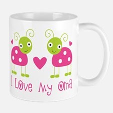 I Love Oma Ladybug Mug