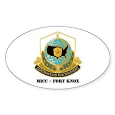 MICC - FORT KNOX with Text Decal