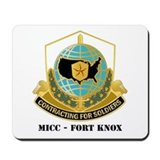 MICC - FORT KNOX with Text Mousepad