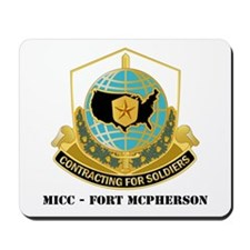 MICC - FORT MCPHERSON with Text Mousepad