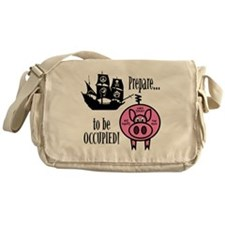 Prepare to Be Occupied Pirate Occupy Messenger Bag