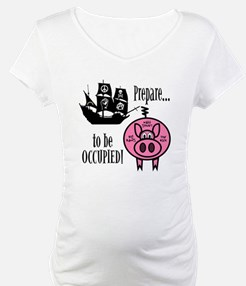 Prepare to Be Occupied Pirate Occupy Shirt