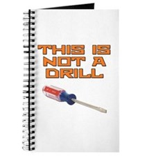This is not a Drill Screwdriver Journal
