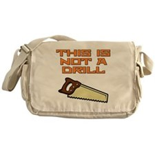 This is not a Drill Saw Messenger Bag