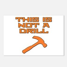 This is not a Drill Hammer Postcards (Package of 8