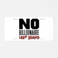 No Billionaire Left Behind Occupy Aluminum License