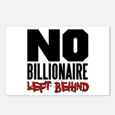 No Billionaire Left Behind Occupy Postcards (Packa