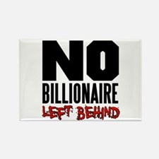 No Billionaire Left Behind Occupy Rectangle Magnet