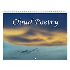 Cloud Poetry Wall Calendar