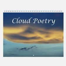 Cloud Poetry Wall Calendar