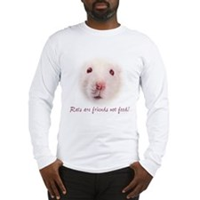 """White Rat""Long Sleeve T-Shirt"