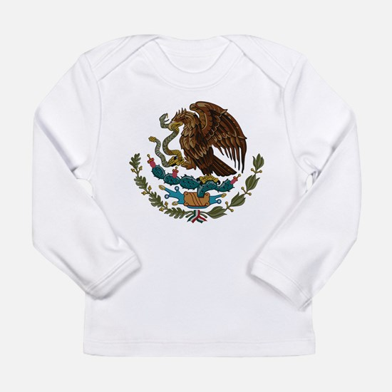 Mexican Coat of Arms Long Sleeve Infant T-Shirt