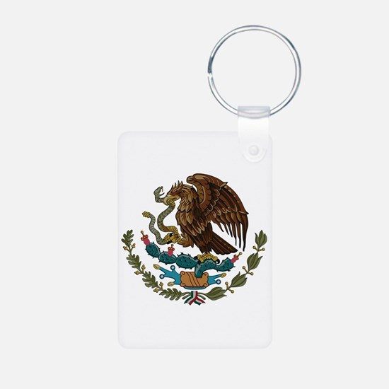 Mexican Coat of Arms Keychains