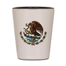 Mexican Coat of Arms Shot Glass
