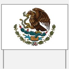 Mexican Coat of Arms Yard Sign