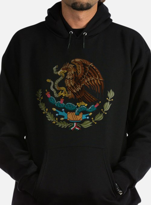 Mexican Coat of Arms Hoodie