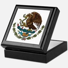 Mexican Coat of Arms Keepsake Box