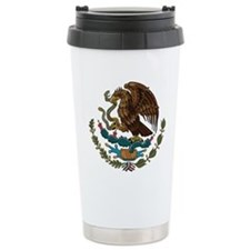 Mexican Coat of Arms Travel Mug