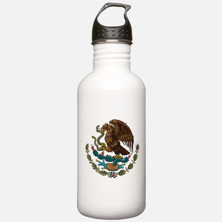 Mexican Coat of Arms Water Bottle
