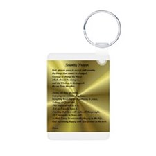 AA Serenity Prayer Keychains