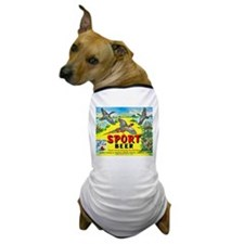 Michigan Beer Label 10 Dog T-Shirt
