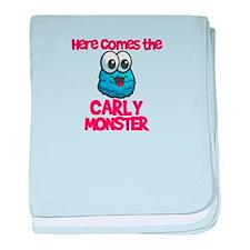 Carly Monster baby blanket