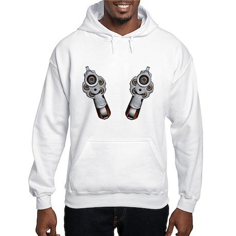 Staring Down Barrel Hooded Sweatshirt