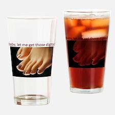 Cute Foot Drinking Glass