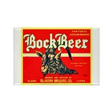 Illinois Beer Label 3 Rectangle Magnet