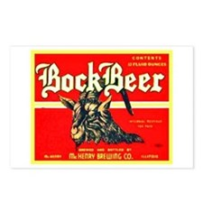 Illinois Beer Label 3 Postcards (Package of 8)